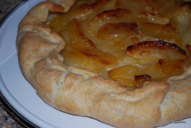 Французский рустикальный яблочный пирог Tarte aux Pommes (16)-2