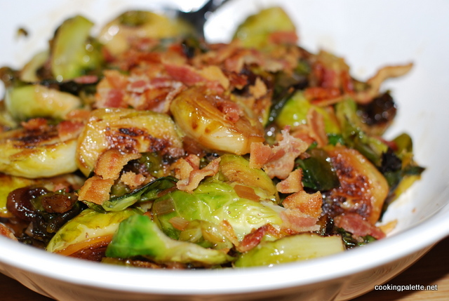 Brussels Sprouts With Bacon And Raisins Recipes — Dishmaps