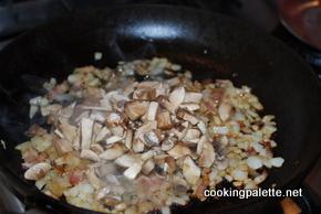 pork stuffed with bacon mushroom onion (3)