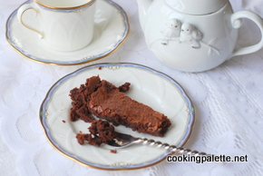 flourless chocolate cake (16)