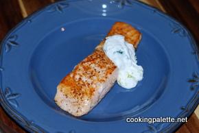 salmon with yogurt sauce (26)