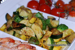 grilled vegetables salad (10)