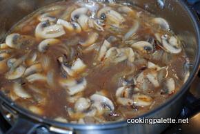 tongue with mushroom sauce (4)