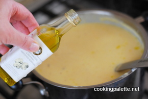 cauliflower soup with truffle oil (10)
