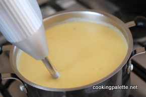 cauliflower soup with truffle oil (8)