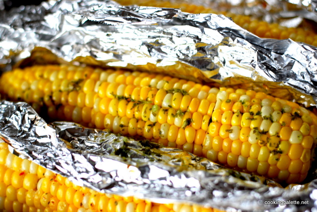 corn with parsley garlic butter (11)