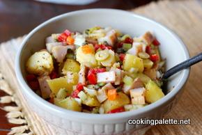 potato salad with hot smoked fish (16)