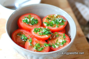 tomato salad with pistou (6)