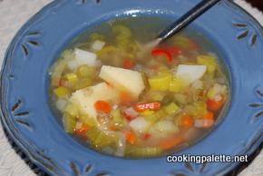 veg soup with polenta (8)