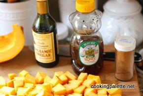 caramelized pumpkin salad (2)