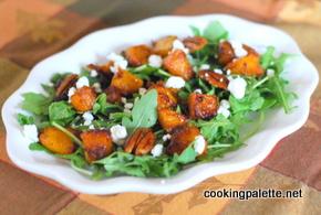 caramelized pumpkin salad (7)