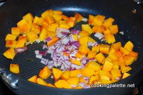 quinoa pumpkin cranberry salad (1)