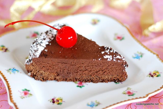 chocolate mousse cake   (1)