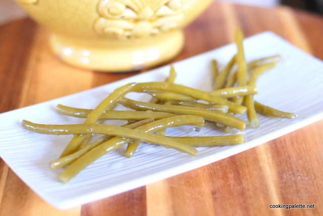 green beens marinated (6)