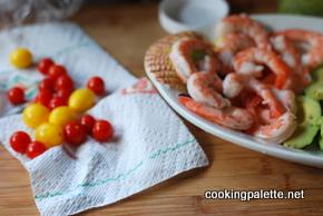 shrimp avocado salald (2)