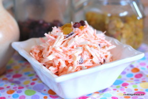 carrot raisin jicama cranberry salad (6)