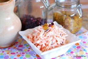 carrot raisin jicama cranberry salad (7)
