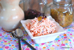 carrot raisin jicama cranberry salad (9)