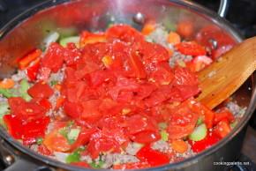 garden veg meat sauce farfalle (12)
