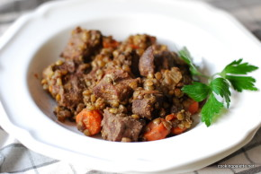 beef and lentil stew  (22)