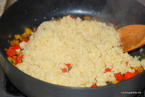 quinoa with peppers and tomatoes (9)