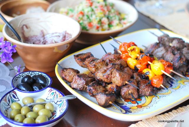 lamb kebabs wine marinade   (14)