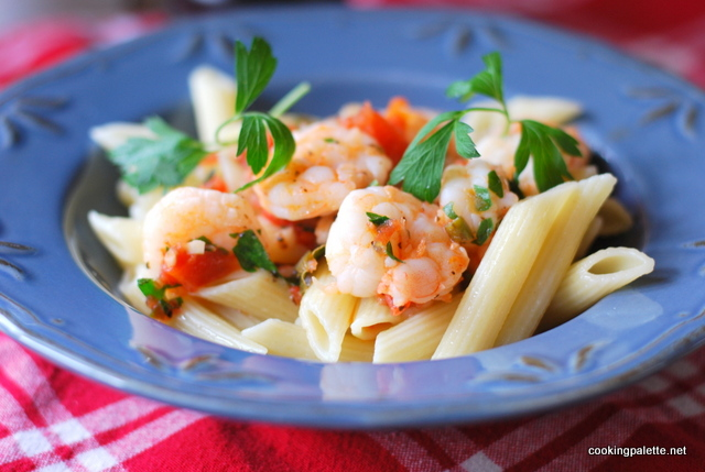 pasta with shrimp  (12)