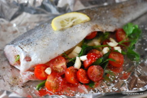trout in foil with cherry tomatoes (6)