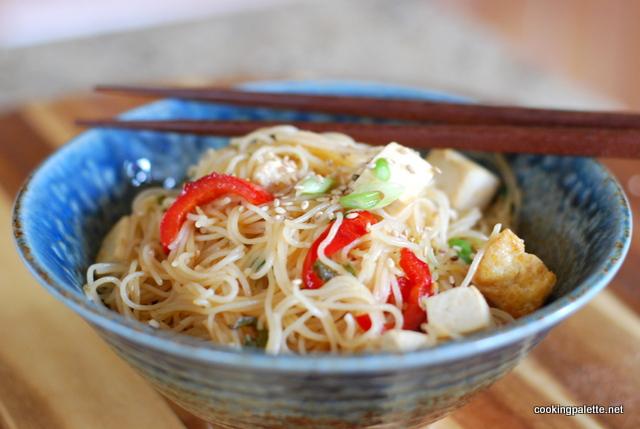 veg and tofu rice noodles (11)