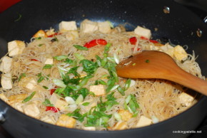 veg and tofu rice noodles (5)