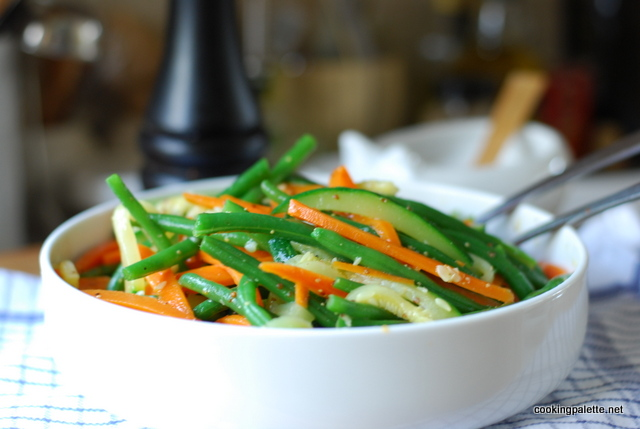 green bean, carrot and zucchini salad (13)