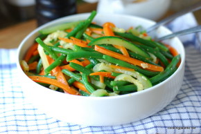 green bean, carrot and zucchini salad (15)