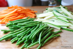 green bean, carrot and zucchini salad (2)