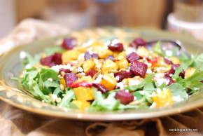 roasted pumpkin beet salad (15)