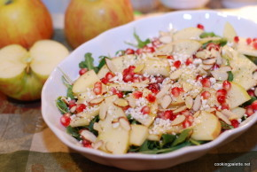 apple pomegranate salad (14)