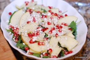 apple pomegranate salad (4)