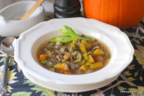 black lentil pumpkin soup  (10)