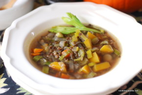 black lentil pumpkin soup  (11)