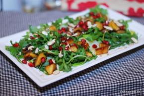 balsamic apple pomegranate salad (18)