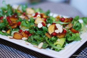balsamic apple pomegranate salad (23)