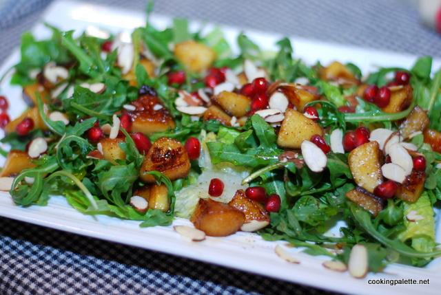 balsamic apple pomegranate salad (24)