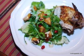 balsamic apple pomegranate salad (30)