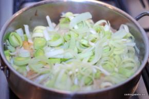 chicken leek and mushroom sauce (7)