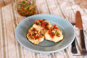 cauliflower olive sundried tomato salsa (5)