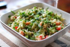 cous cous cilantro salad (7)