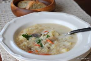 mushroom cauliflower bulgur soup (14)