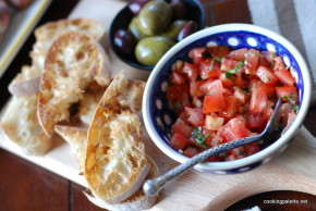 bruschetta with tomato and capers  (14)