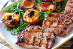 pork chops with peaches (8)