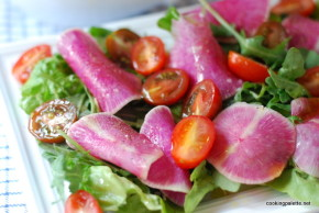 watermelon radish salad (10)