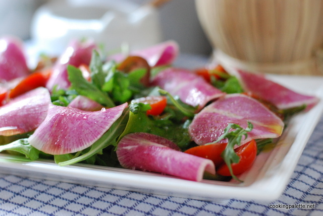 watermelon radish salad (14)